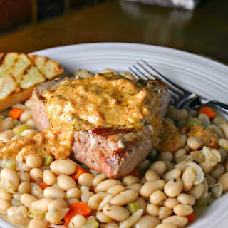 Tuna with White Beans and Sun-dried Tomatoes