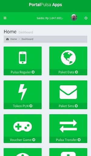 Portal Pulsa - Distributor Pulsa Termurah  screenshots 2