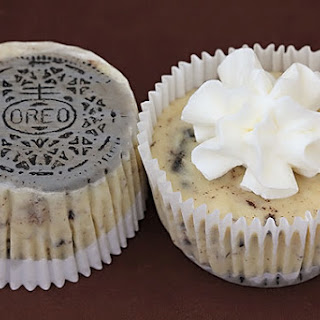Oreo Cookies & Cream Cheesecakes