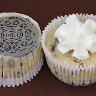 Oreo Cookies & Cream Cheesecakes.