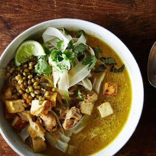 Chicken Tofu Laksa Recipe