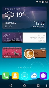 GO Weather Forecast & Widgets screenshot 6
