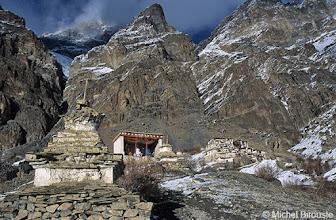 Photo: Lingshed et son monastère