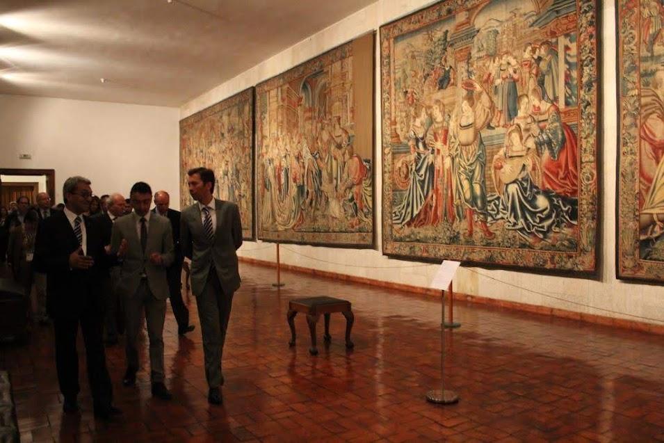 Secretário de Estado da Cultura em Lamego - Museu de Lamego