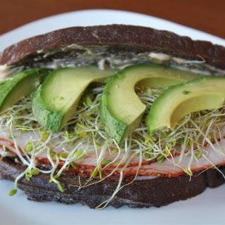 Homemade Haight Ashbury Sandwich