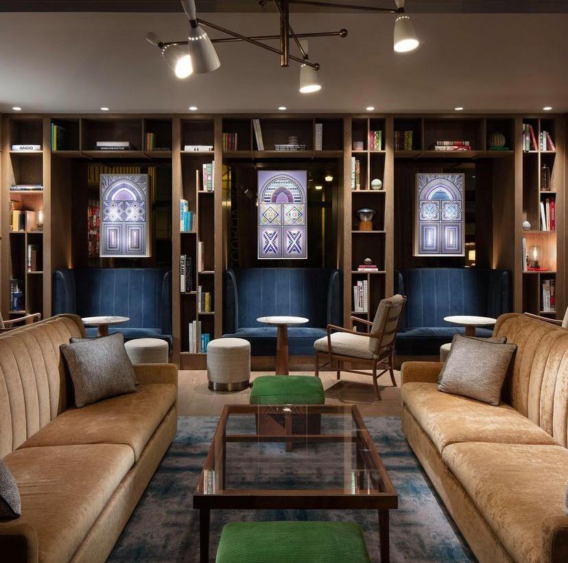 The Hari Hotel Hong Kong Lounge