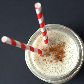Tahini Vanilla Milkshake Smoothie.