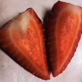 Sliced Strawberry by Rich Havas - Food & Drink Fruits & Vegetables (  )