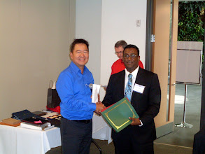 Photo: Imtee Baksh of Toronto Chapter also received the Green Ribbon (MP)