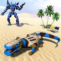 Komodo Dragon Robot Car Game: Robot Transforming icon