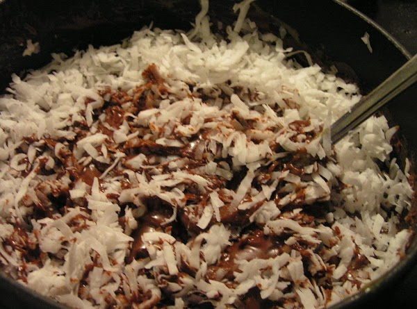 In a small sauce pan combine chocolate chips, sweetened condensed milk and butter; melt...