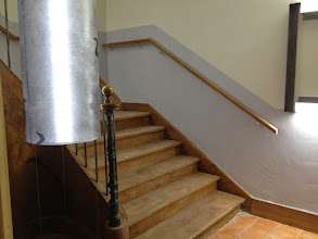 Photo: L'escalier d'accès