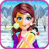 Ski girl Fashion and Makeup Artist