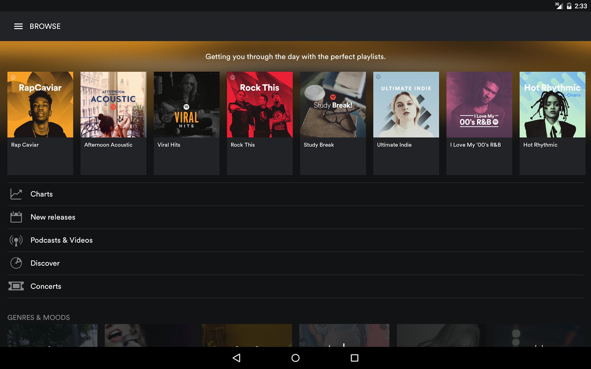 Spotify Music screenshot #6