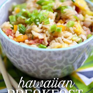 Hawaiian Fried Breakfast Rice.