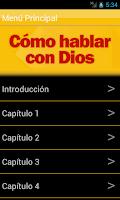 Screenshot of Como Orar 2