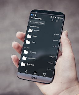 Simple Dark Theme LG G6 V20 G5 V30 Screenshot
