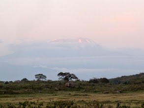 Photo: Mount Kilimanjaro from mommella Lodge - 35 miles away