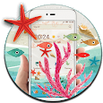 Summer Beach Sea Launcher icon