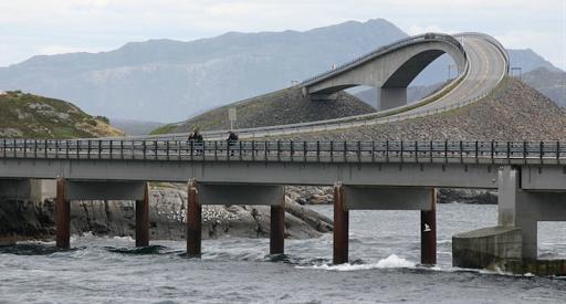 route de l'atlantique norvege