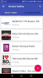 Boston All Radio Stations - náhled