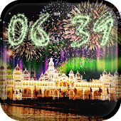 Clock New year Live Wallpaper