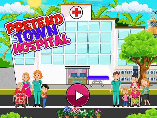 Code Triche Faire semblant à l'hôpital de la ville: jeu de la APK Mod screenshots 1