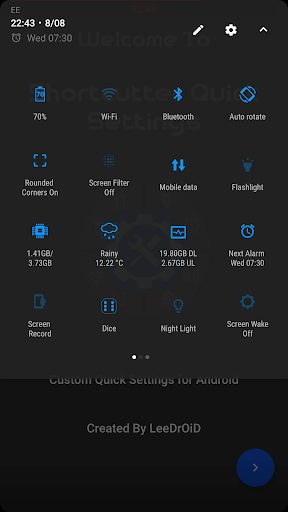 Shortcutter Quick Settings v3.7.7 [Premium]