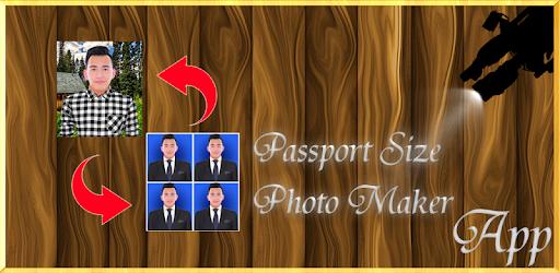 Passport Size Photo Maker App app (apk) free download for Android/PC/Windows screenshot