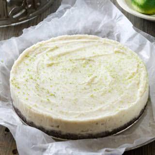 Coconut Lime Ice Cream Pie With Chocolate Crust [Vegan, Gluten-Free].