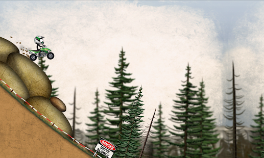Stickman Downhill Motocross Screenshot