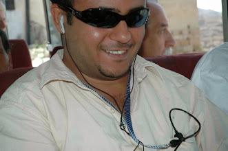 Photo: Austadh Sameer in a blakc classes