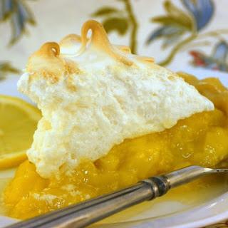 Mom's Mile High Lemon Meringue Pie