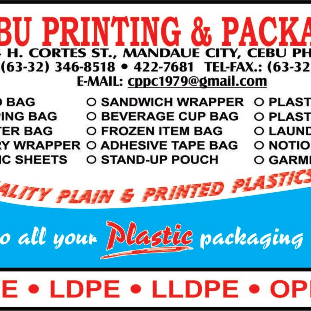 Cebu Printing and Packaging Corporation - The Answer to All