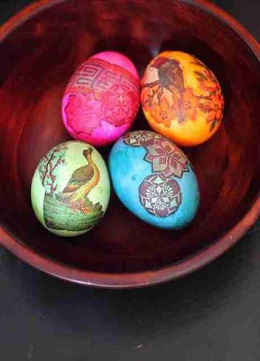 复活节彩蛋装饰理念