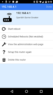 Download Reboot My OpenWRT Router For PC Windows and Mac apk screenshot 2