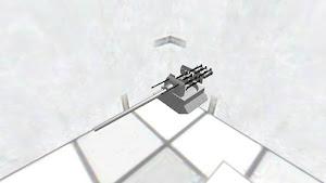 メイン機材の砲塔内部