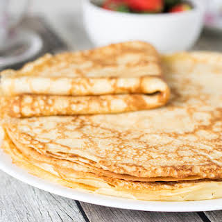Blini - Traditional Russian Pancakes.