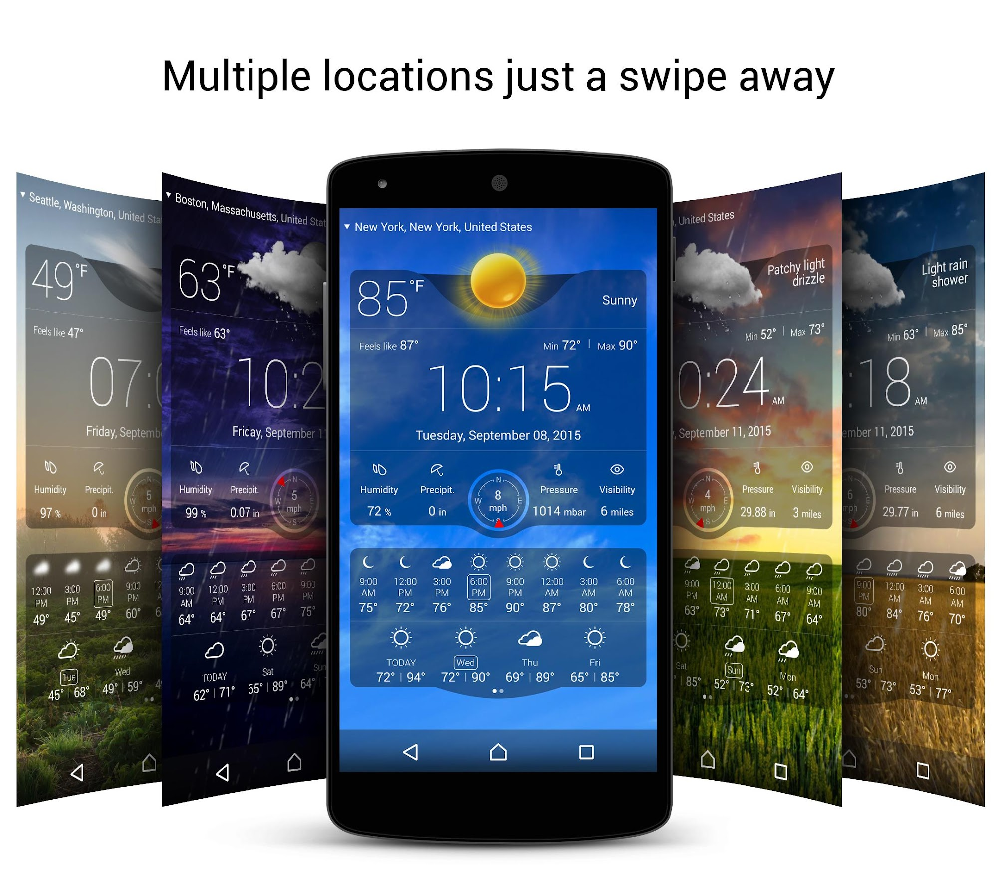 Weather Live Free screenshot #5