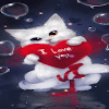 Red Heart Cat LWP
