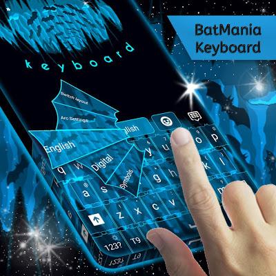 Batmania Keyboard - screenshot