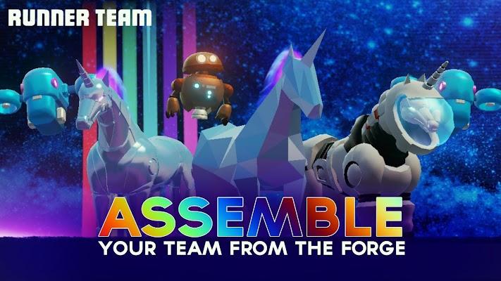 Robot Unicorn Attack 3- screenshot