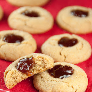 Peanut Butter and Jelly Thumbprint Cookies + GIVEAWAY