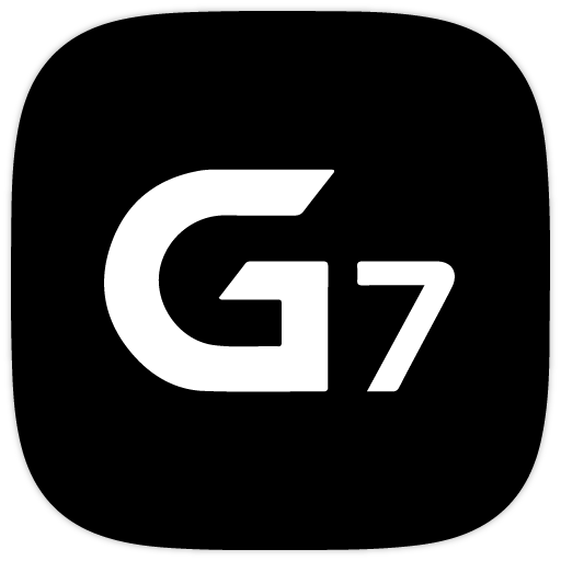 G7 Black UX - Icon Pack