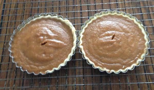 Pumpkin Pie For Two Recipe