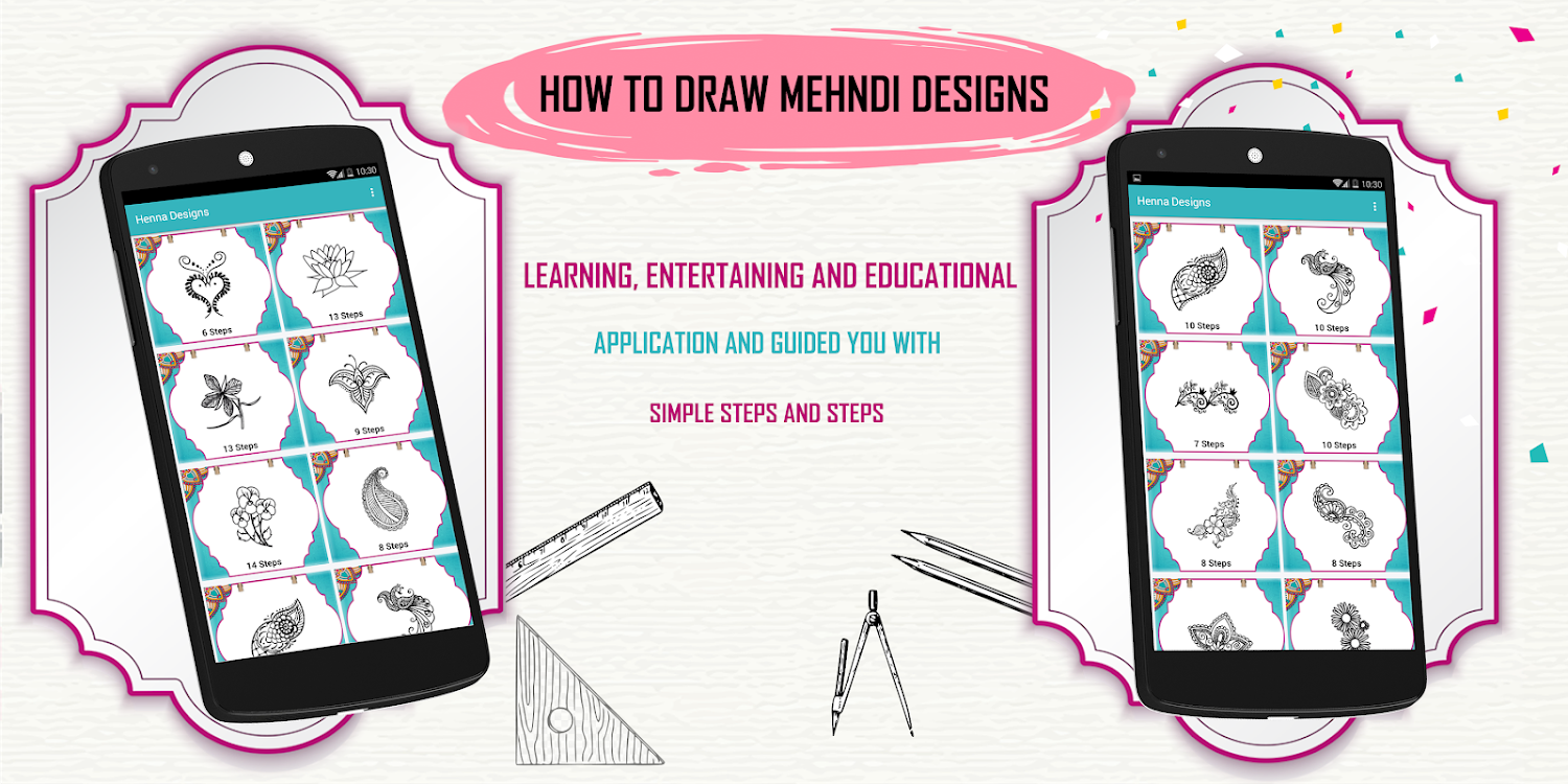 Learn How To Draw Henna Designs Step By Step Android Apps Appagg,Mens Diamond Ring Designs Tanishq