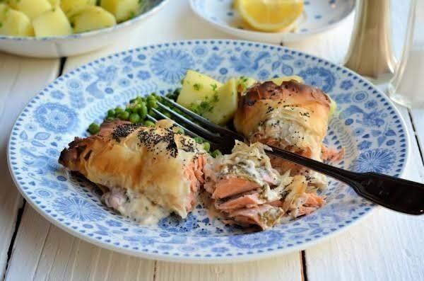 Salmon En Croûte Recipe