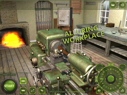 Lathe Machine 3D: Milling & Turning Simulator Game  screenshots 9