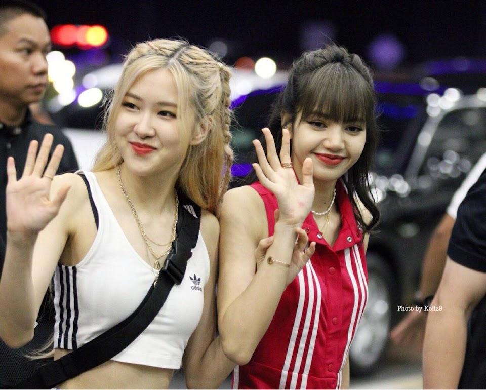 BLACKPINK Rosé and Lisa