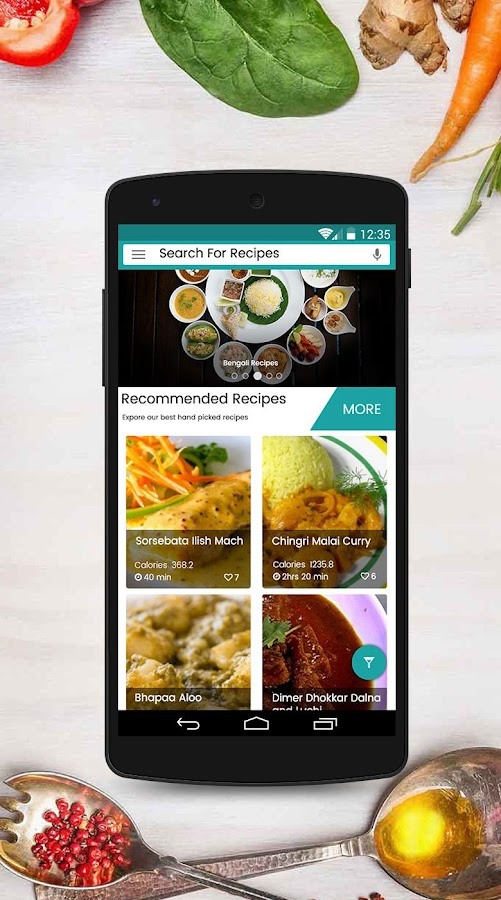 5000 bengali recipes free android apps on google play 5000 bengali recipes free screenshot forumfinder Images